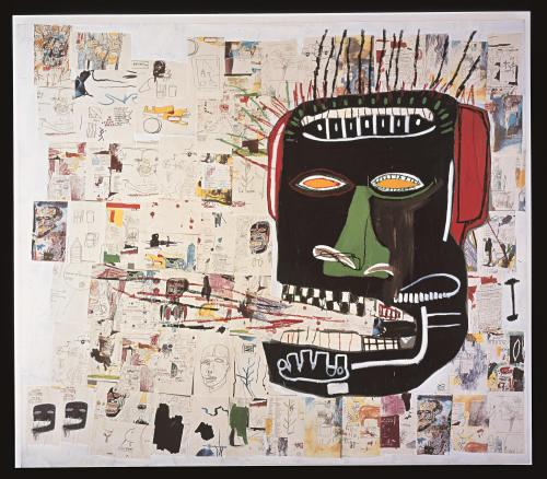 Jean-Michel Basquiat, Glenn, 1985. Private collection.