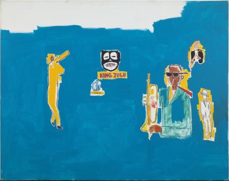 Jean-Michel Basquiat, King Zulu, 1986. Courtesy Museu d'Art Contemporani de Barcelona