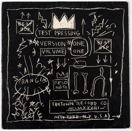 Rammellzee vs. K-Rob, produced and with cover artwork by Jean-Michel Basquiat.