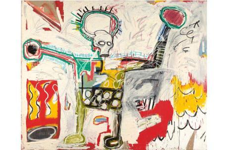 Jean-Michel Basquiat, Untitled, 1982. Museum Boijmans Van Beuningen, Rotterdam.